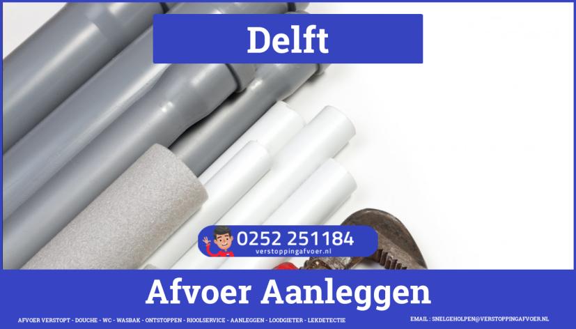 rioolservice cv ketel afvoer verstopt in Delft