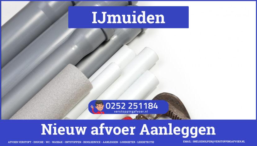 rioolservice afvoer van cv ketel verstopt in IJmuiden