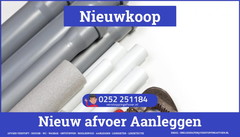 rioolservice afvoer verstopt cv ketel in Nieuwkoop
