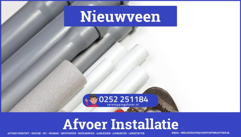 rioolservice afvoer verstopt cv in Nieuwveen