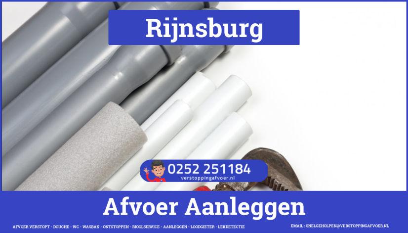 rioolservice cv ketel afvoer verstopt in Rijnsburg