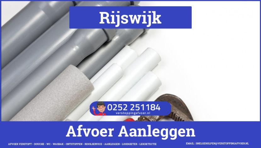 rioolservice afvoer verstopt cv in Rijswijk