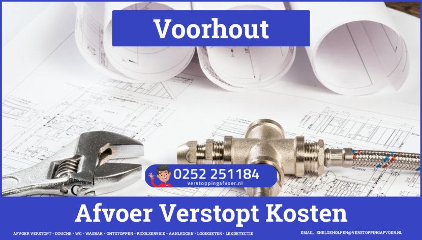rioolservice afvoer verstopt cv in Voorhout