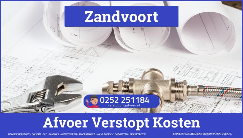 rioolservice cv ketel afvoer verstopt in Zandvoort