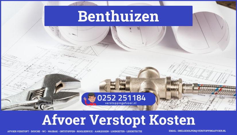 rioolservice afvoer verstopt cv ketel in Benthuizen