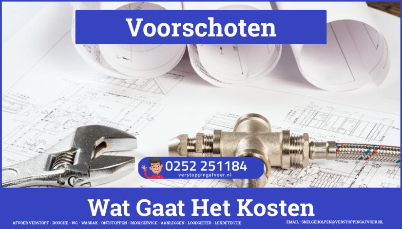 rioolservice afvoer van cv ketel verstopt in Voorschoten