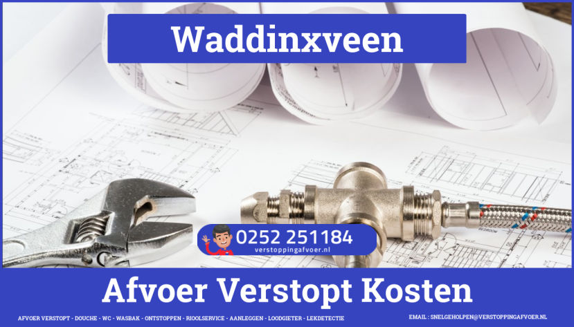 rioolservice cv ketel afvoer verstopt in Waddinxveen