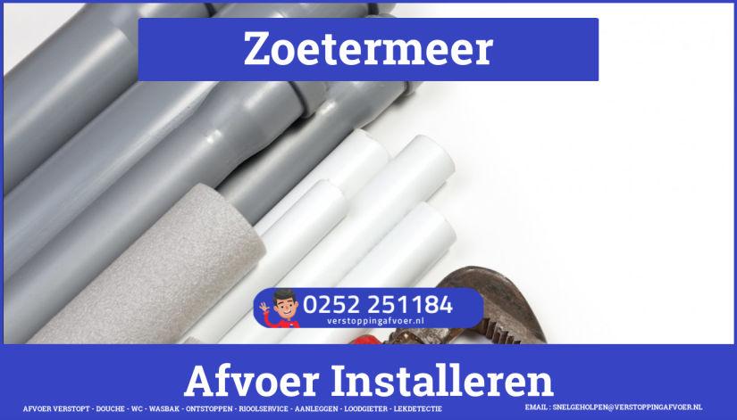 rioolservice afvoer van cv ketel verstopt in Zoetermeer