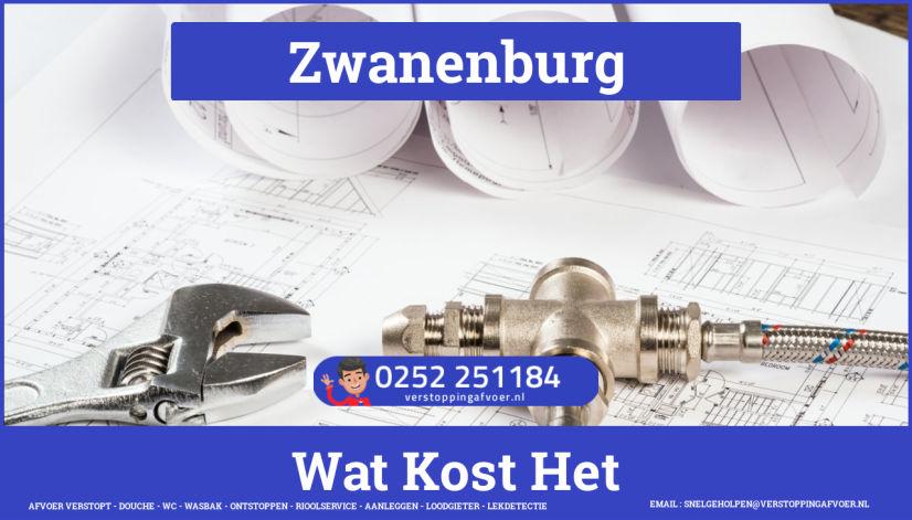 rioolservice afvoer verstopt cv ketel in Zwanenburg