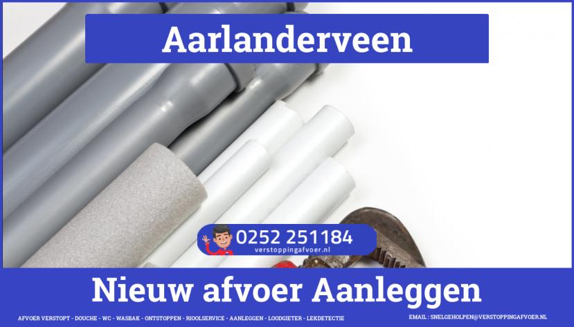 rioolservice afvoer verstopt cv ketel in Aarlanderveen
