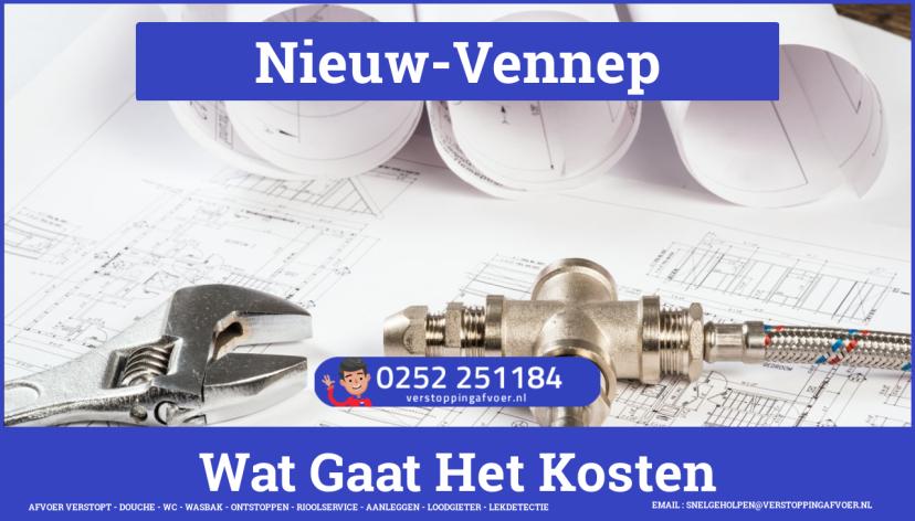 rioolservice afvoer verstopt cv ketel in Nieuw-Vennep