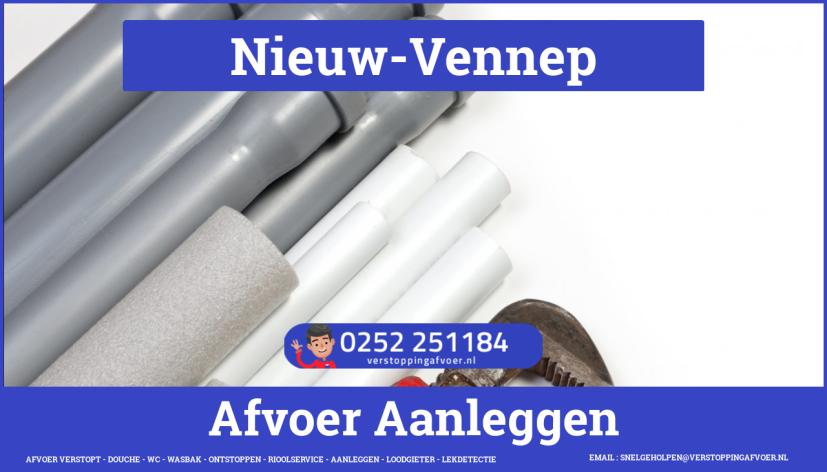 rioolservice afvoer verstopt cv in Nieuw-Vennep