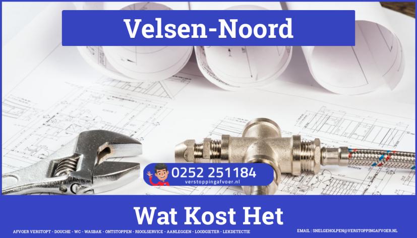 rioolservice afvoer van cv ketel verstopt in Velsen-Noord