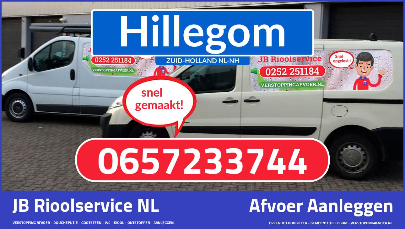 Afvoer installatie in Hillegom ZH