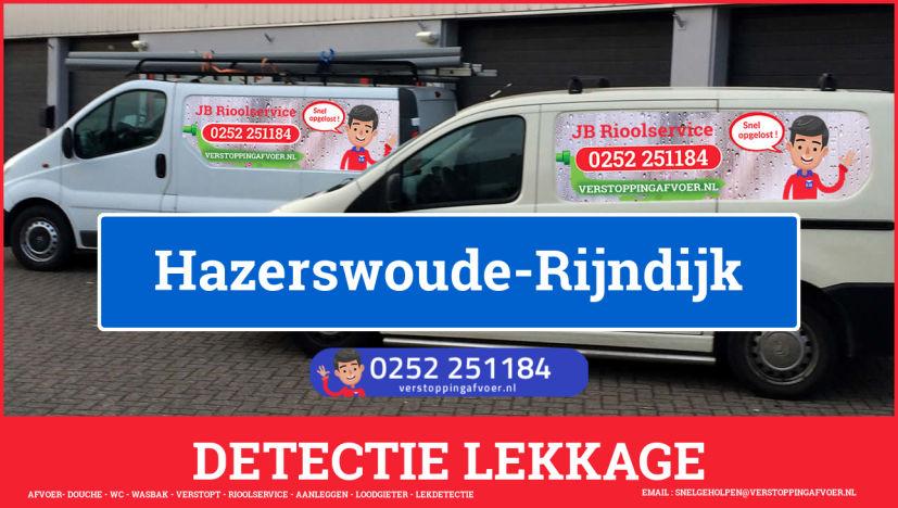 eb rioolservice lekdetectie in Hazerswoude-Rijndijk