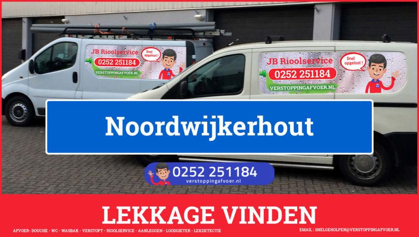 eb rioolservice lekdetectie in Noordwijkerhout