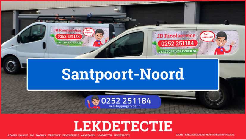 eb rioolservice lekdetectie in Santpoort-Noord