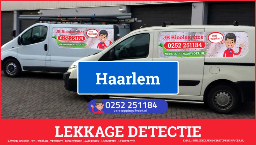 eb rioolservice lekdetectie in Haarlem