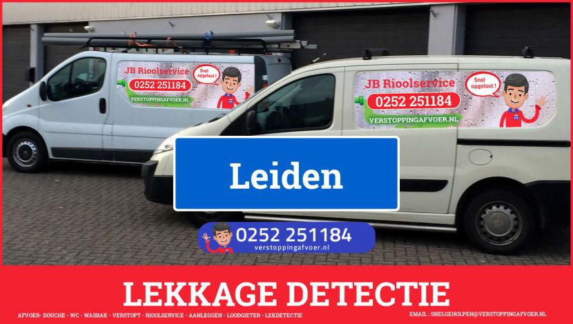 eb rioolservice lekdetectie in Leiden