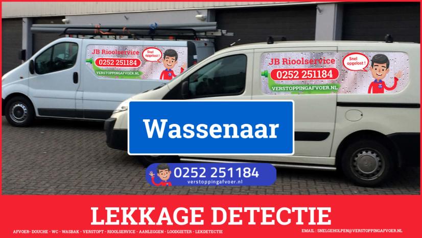 eb rioolservice lekdetectie in Wassenaar