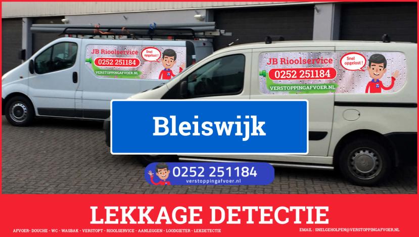 eb rioolservice lekdetectie in Bleiswijk