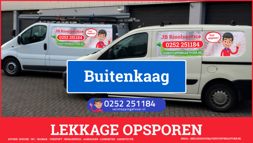 eb rioolservice lekdetectie in Buitenkaag