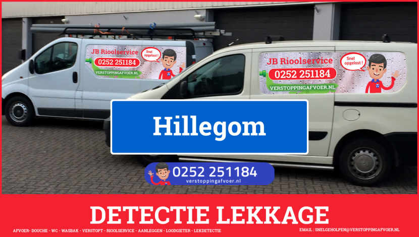 eb rioolservice lekdetectie in Hillegom