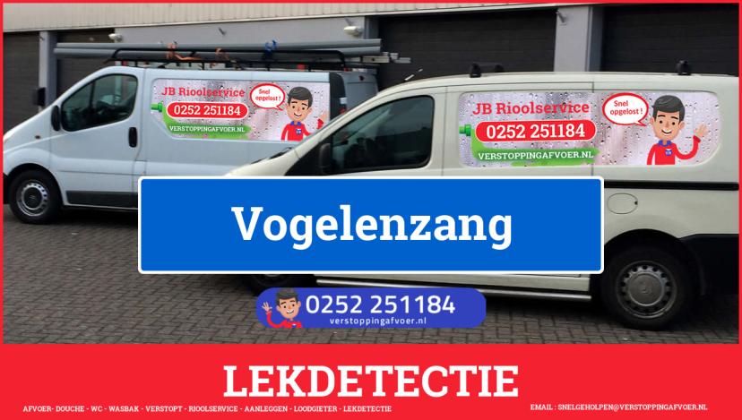 eb rioolservice lekdetectie in Vogelenzang