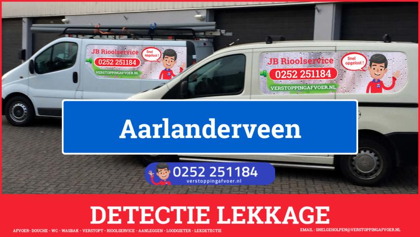 eb rioolservice lekdetectie in Aarlanderveen