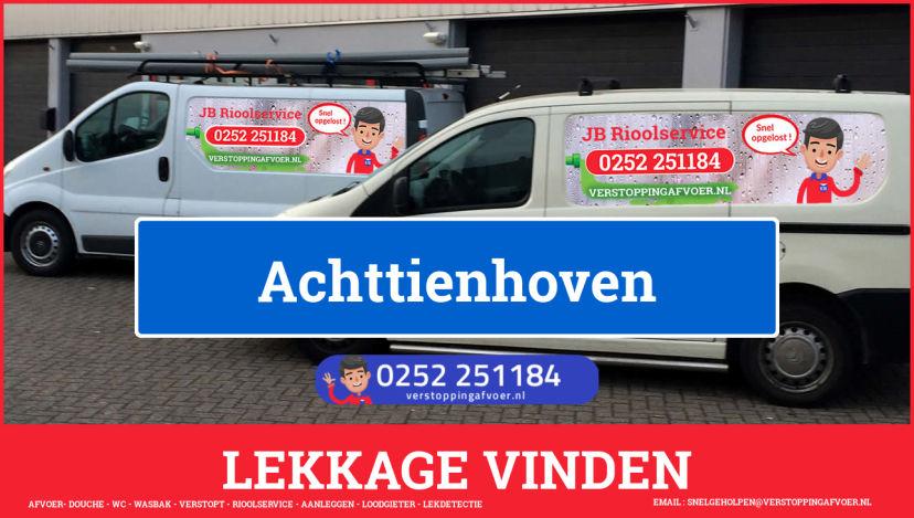 eb rioolservice lekdetectie in Achttienhoven