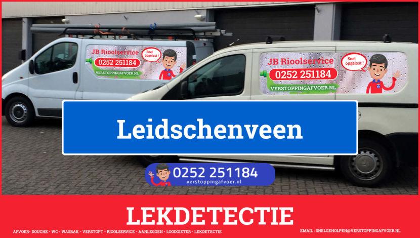 eb rioolservice lekdetectie in Leidschenveen