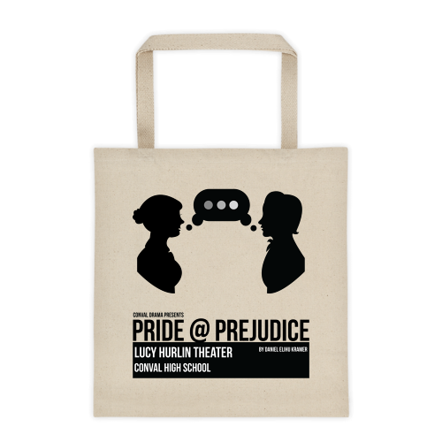 Pride@Prejudice Production Tote