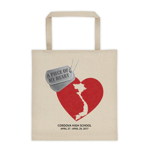 A Piece of My Heart - Tote