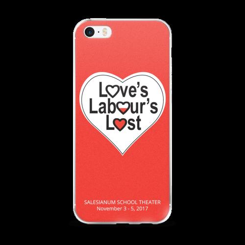 Love's Labour's Lost iPhone Case