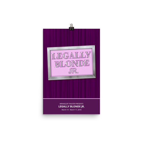 Legally Blonde Jr. - poster