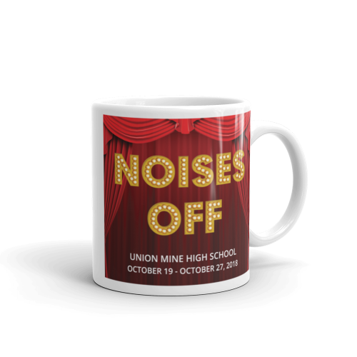 Noises Off - mug