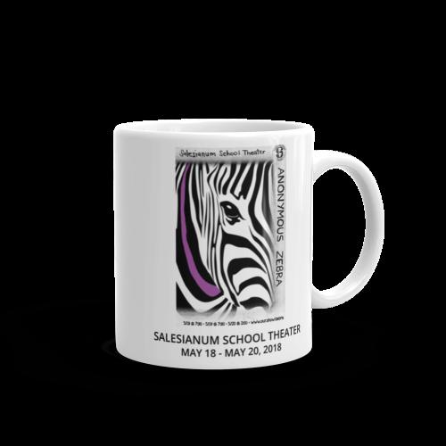 Anonymous Zebra- Mug