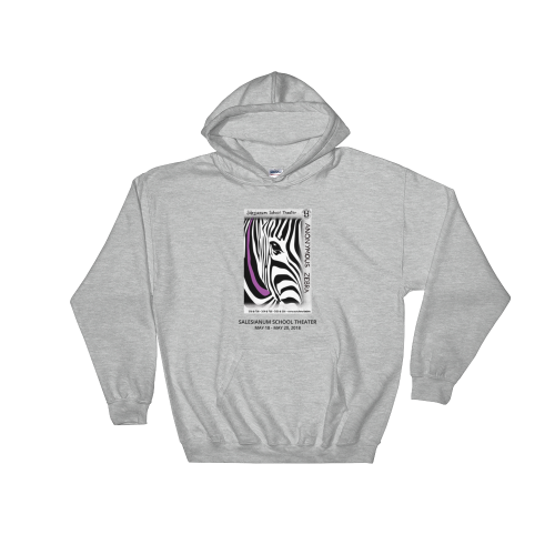 Anonymous Zebra- Sweatshirt