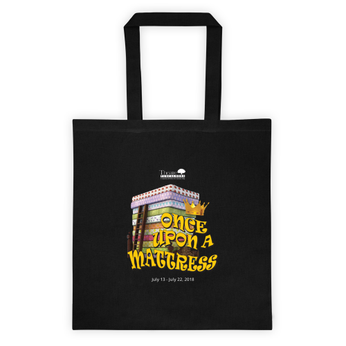 Once Upon a Mattress - tote bag