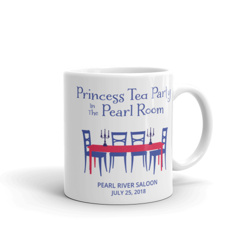 Princess Tea Party in the Pearl Room - mug