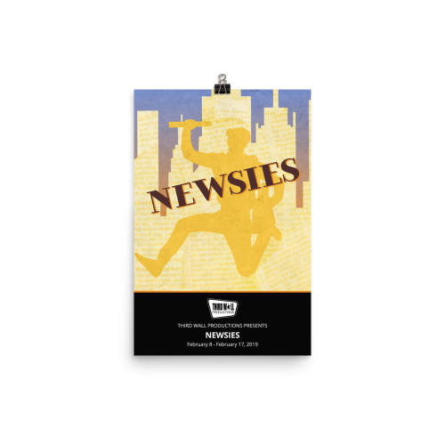 Newsies - souvenir poster