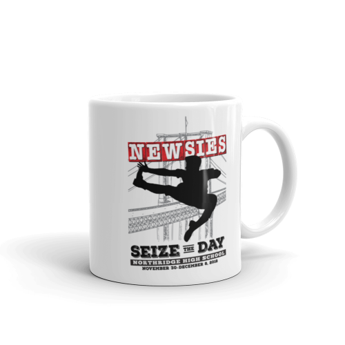 Newsies White Mug