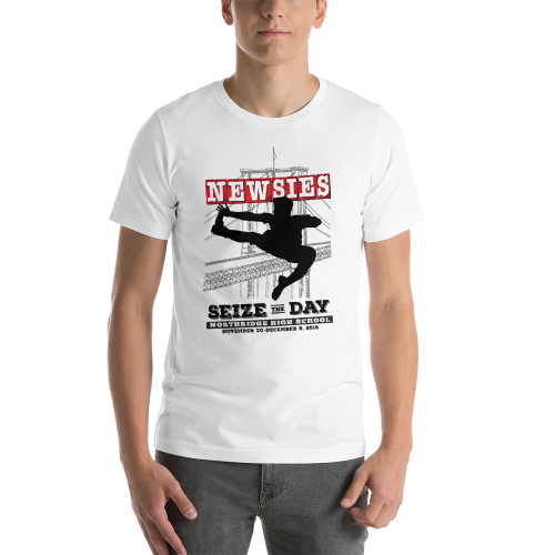 Newsies White T-Shirt