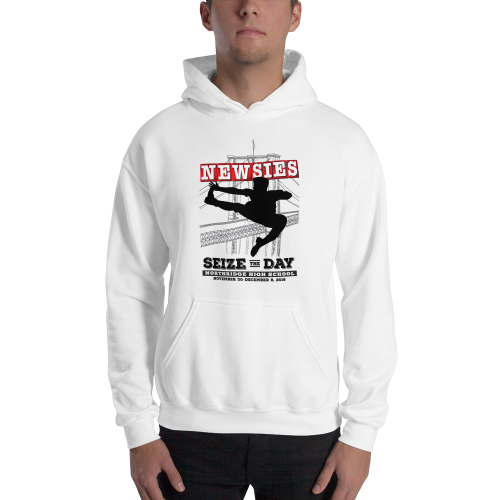 Newsies White Sweatshirt