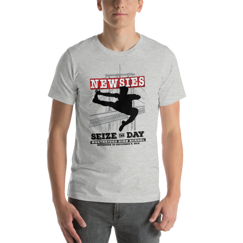 Newsies Grey T-Shirt
