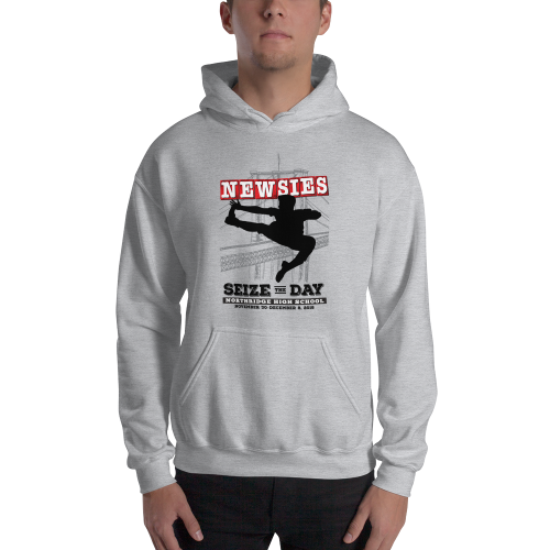 Newsies Grey Sweatshirt