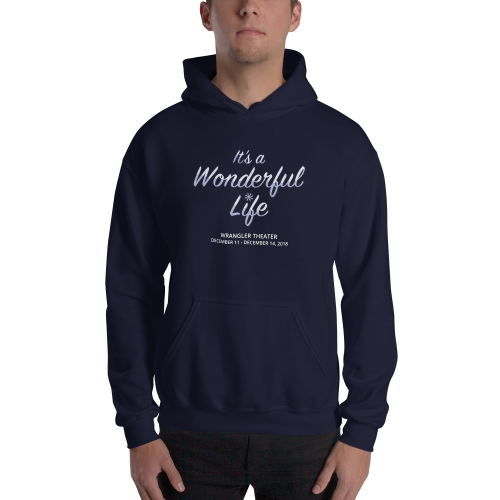 It's A Wonderful Life- Hooded Swearshirt