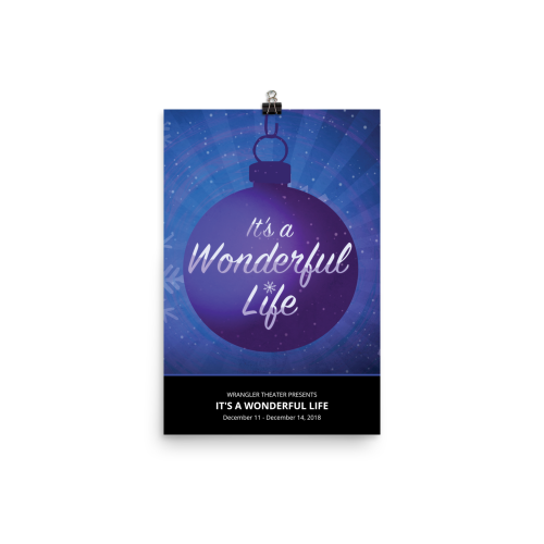 It's A Wonderful Life- Poster