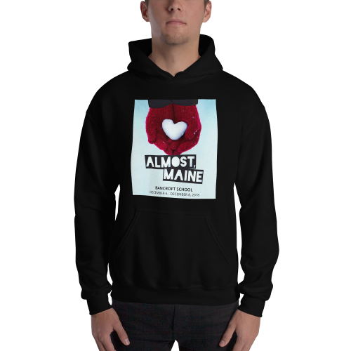 Almost, Maine- Hooded Sweatshirt