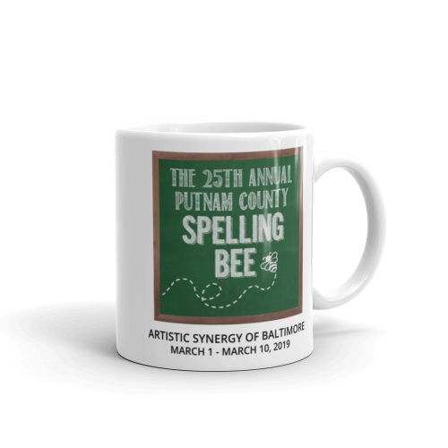 The 25th Annual Putnam County Spelling Bee- Mug